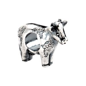 (Limited Supply) Click Image Above: Kera Sterling Silver Cow Bead