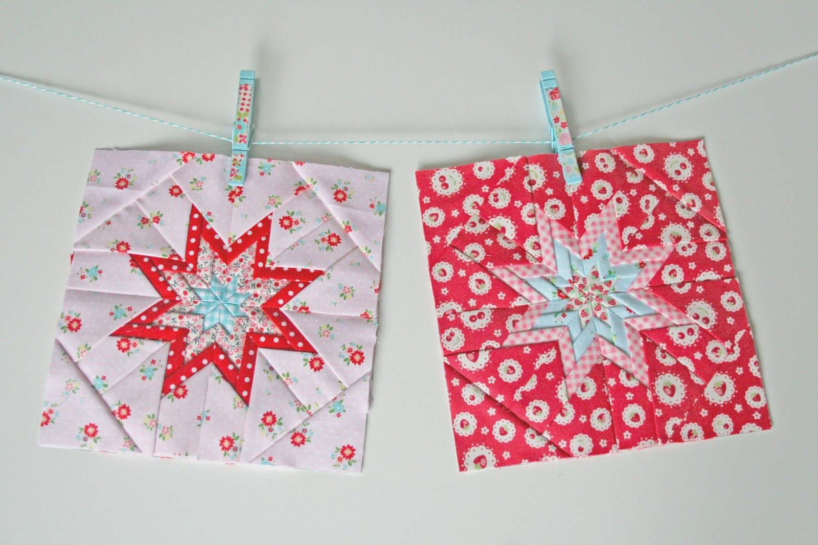 lovely little handmades: simple folded star