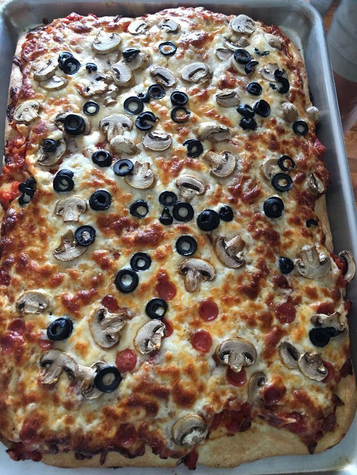 Sicilian Pizza Dough Recipe Food Com Recipe Sicilian Recipes Pizza Recipes Dough Sicilian Pizza