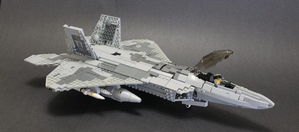 F 22C King Raptor  7    Legos   Pinterest   Lego  Lego plane and     F 22C King Raptor  7
