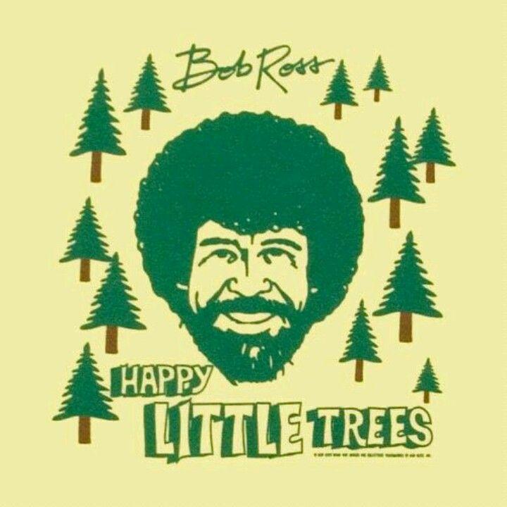 happy little trees - 600×600