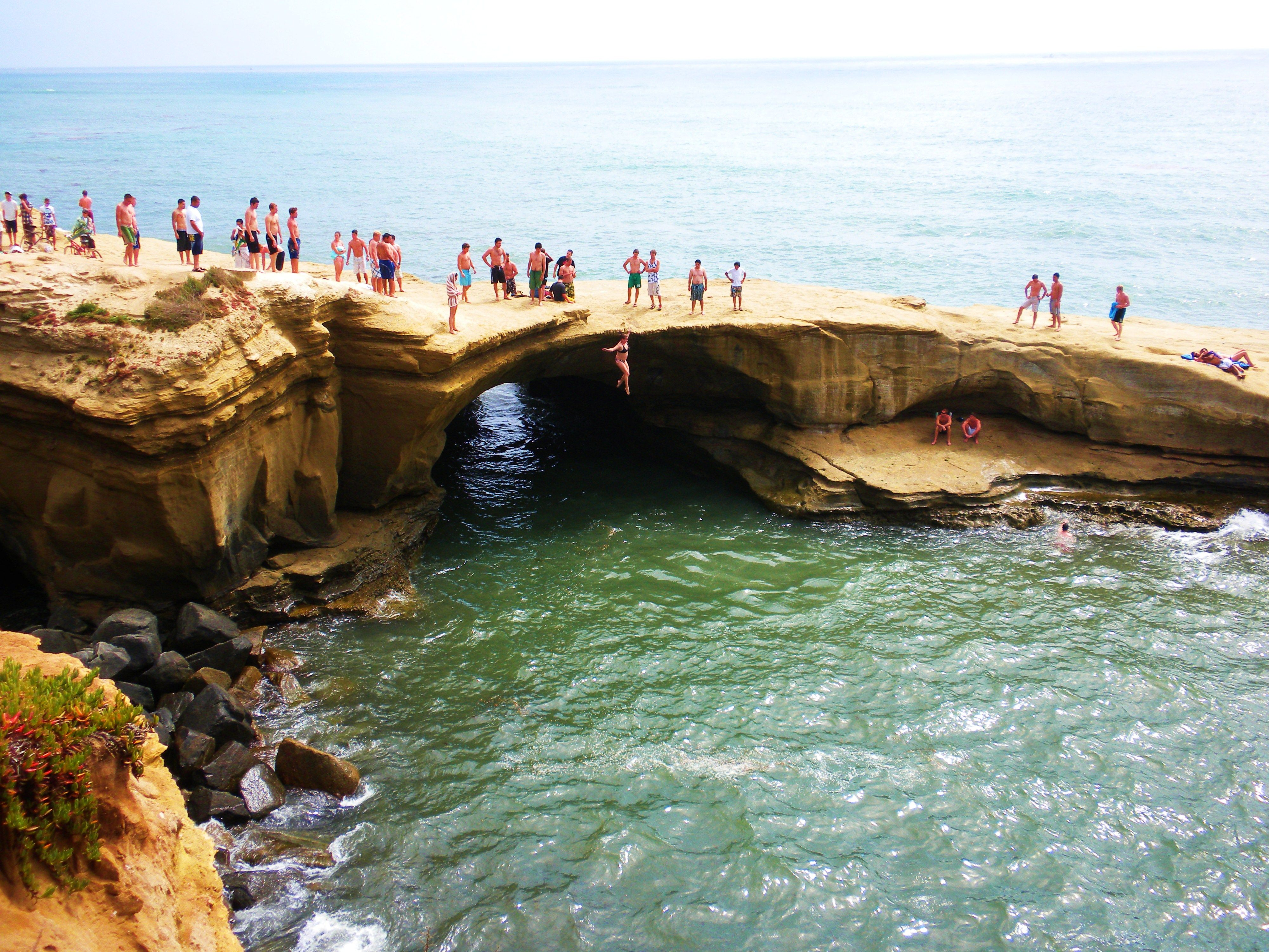 Sunset Cliffs Natural Park Cliff Jumping