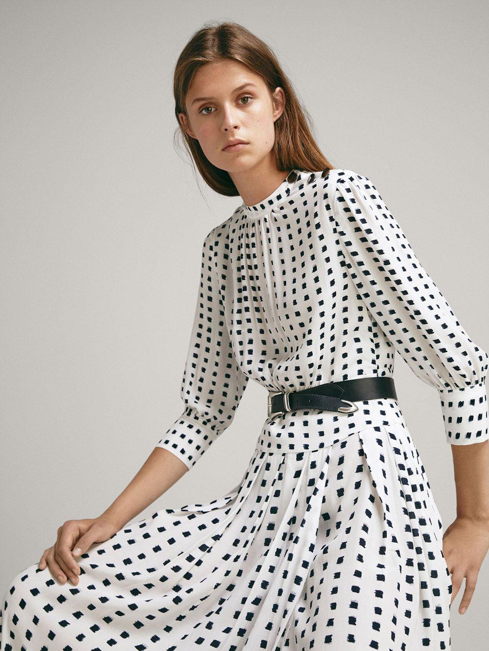 Insta favorit: 'it' haljina za jesen 2018. s Massimo Dutti potpisom