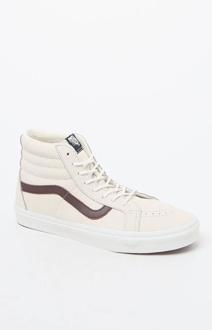 57c98e5283 Leather Sk8-Hi Reissue Off White Shoes