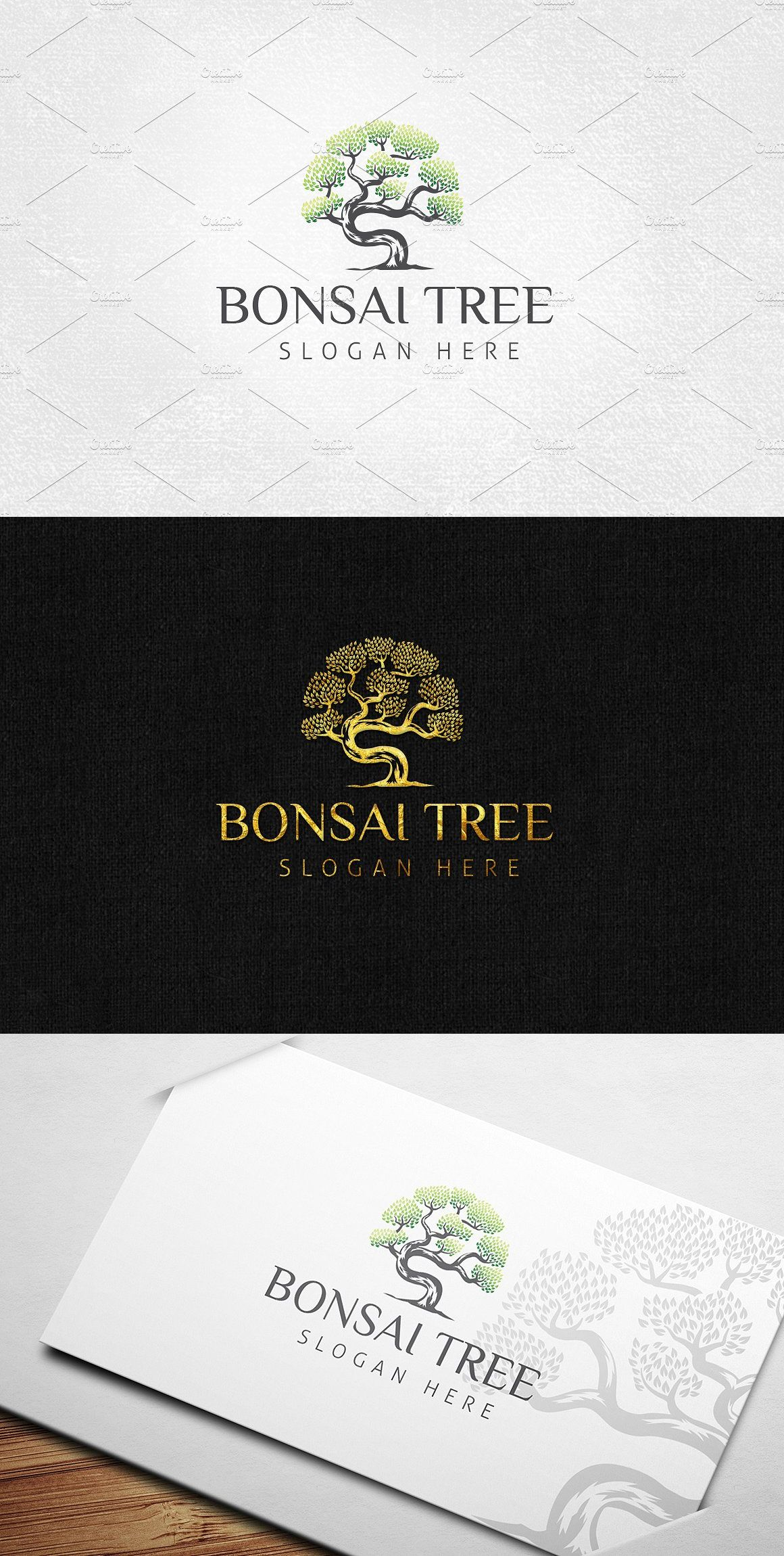 Bonsai Tree Logo Template Tree Logos Bonsai Tree Tree Drawing