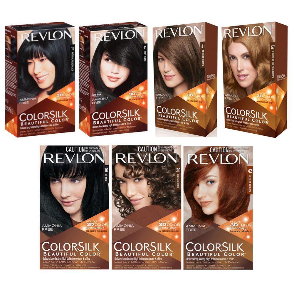 Revlon Colorsilk Beautiful Color Permanent Grey