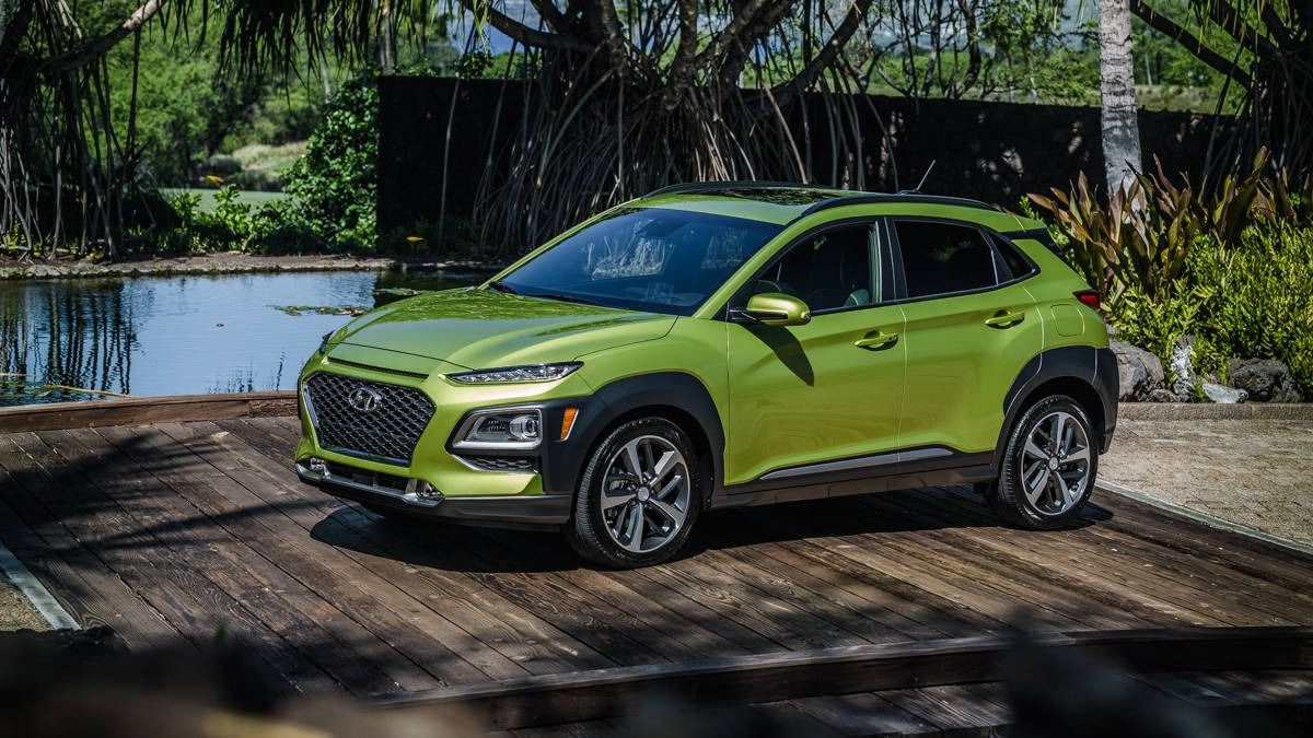 2018 Hyundai Kona Photos, specs and pricing for Hyundai's
