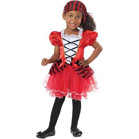 Free 2-day shipping on qualified orders over $35. Buy Petite Pirate Toddler Halloween Costume at Walmart.com