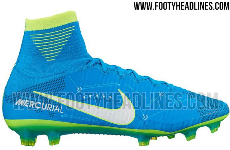 The first-ever Neymar Nike Mercurial Superfly V signature boots introduce a  stunning design,