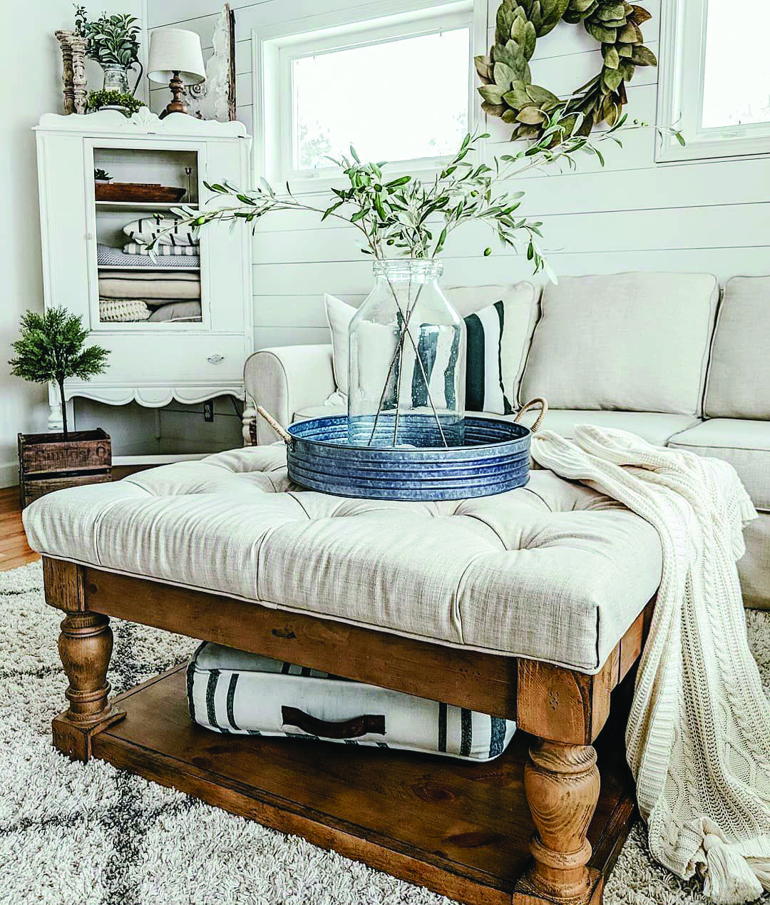 Cool And Contemporary Home Ohio Ottoman Coffee Table Chocolate And Oak Effect Only I Farm House Living Room French Country Living Room Ottoman In Living Room [ 1269 x 1080 Pixel ]