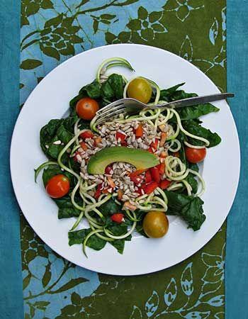 Sunflower Seed Bell Pepper Salad