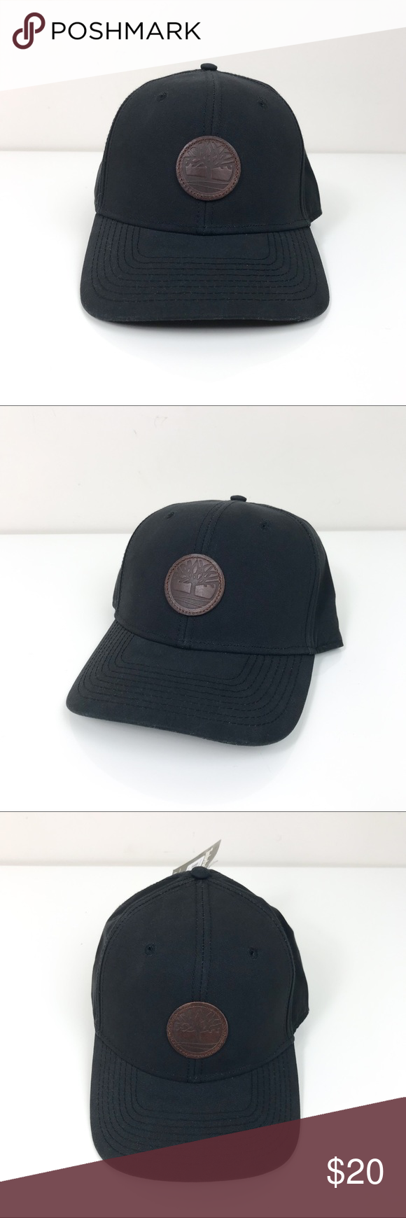 d745362dfef Timberland Men s Cotton Canvas Baseball Cap Black Timberland Men s Cotton  Canvas Baseball Cap Black One Size This Timberland cap is brand new with  tags.