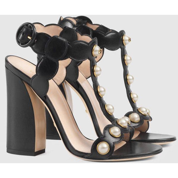 dd386026bc52 Gucci Leather T-Strap Sandal ( 1