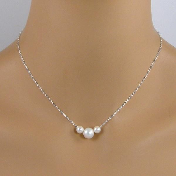 Chamberland Square Posts: Mint Green Teardrop Pearl Sterling Silver Lever Back