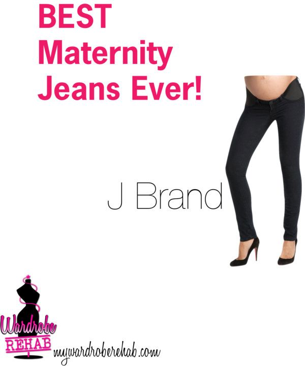 """""""Best Maternity Jeans Ever!"""" by wardrobe-rehab on Polyvore"""
