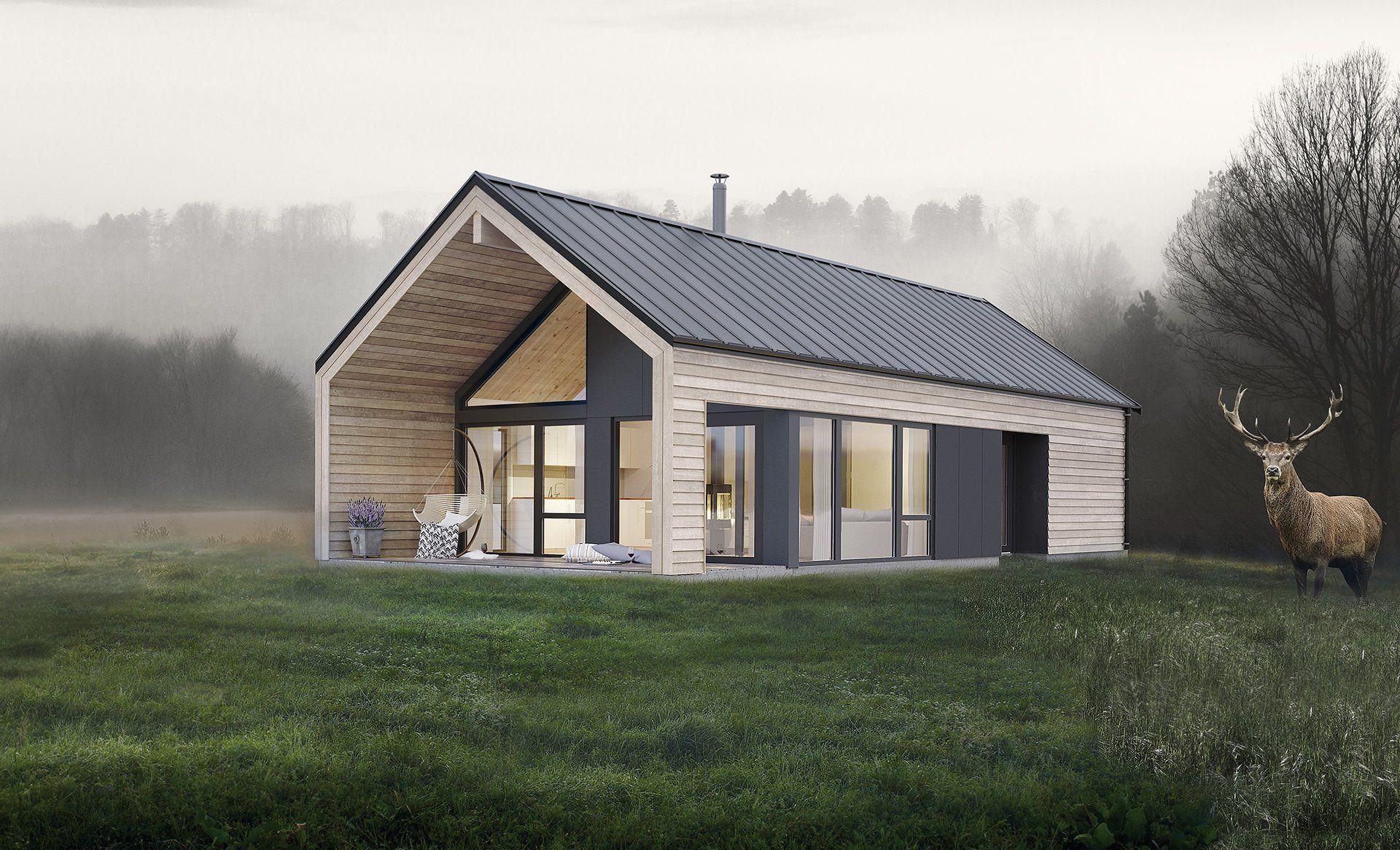 koia moderne norgeshus hyttetypen koia moderne fra norgeshus pinterest haus haus bauen. Black Bedroom Furniture Sets. Home Design Ideas