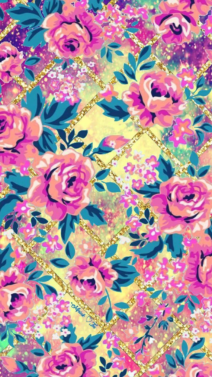 Wild Flowers Galaxy Wallpaper Androidwallpaper
