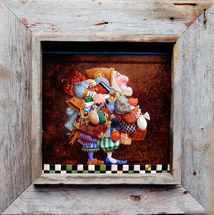 Shadowbox Frames Rustic Barnwood 12x8 Opening Sbf 12x8