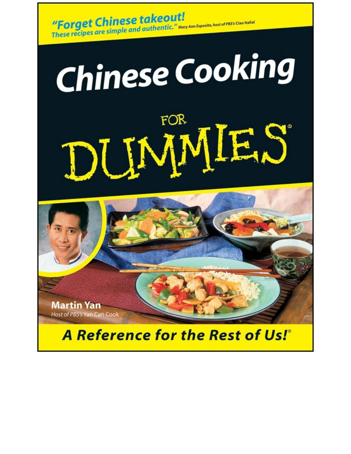 Chinese cooking for dummies chinese recipes herbs and recipes chinese cooking for dummies forumfinder Images