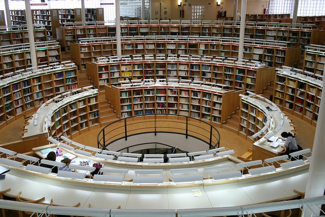 Biblioteca Maria Moliner Maria Moliner Library Disenos De