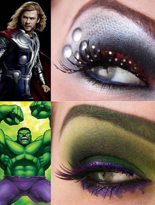 INSPIRADO EN THOR Y HULK | Maquillaje, Hulk, Ropa de playa