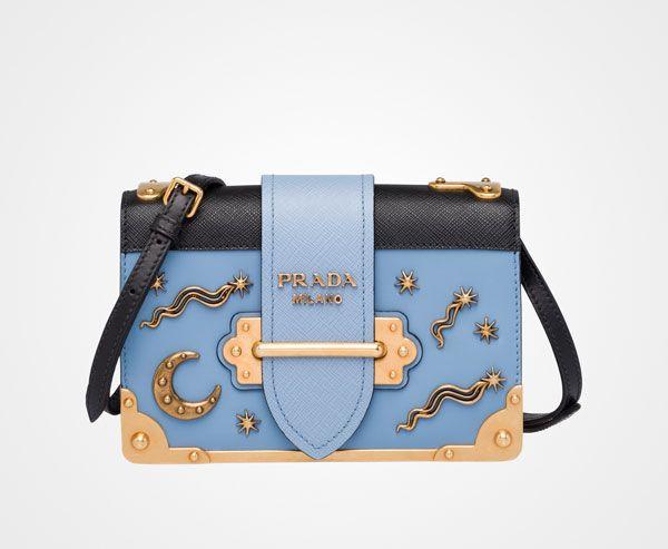 11e8f0600d33 PRADA CAHIER BAG - Astral   items   Prada cahier bag, Bags, Prada bag