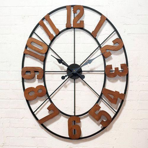 VIP INTERNATIONAL Metal Clock