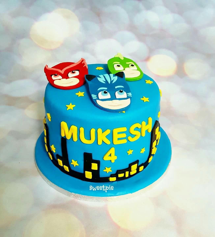 pj masks cake with images  pj masks cake cake