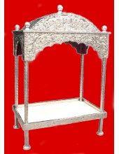 Steel Palki Sahib - Large Size - For Guru Granth Sahib Ji