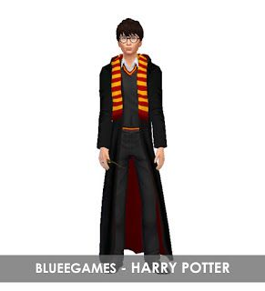 Harry Potter Harry Potter Outfits Collection Sim Blueegames Harry Potter Outfits Sims Harry Potter Robes
