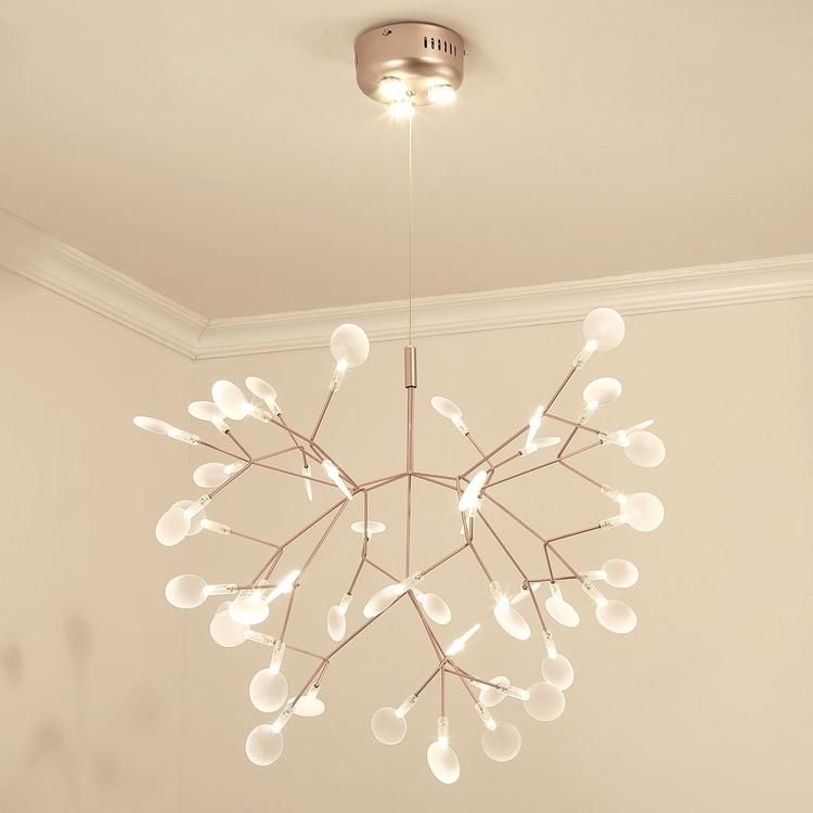 Firefly Branched Sputnik Pendant Light Chandelier Ambient Light Candle Style LED #pendantlighting