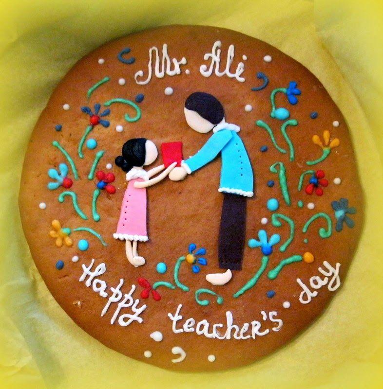 Olesia Ev Pastanesi: Happy ticher's day