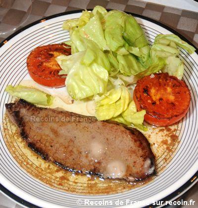 Steak à la provençale
