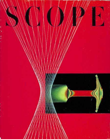 Will Burtin Red Scope Cover   Design   Modern graphic design