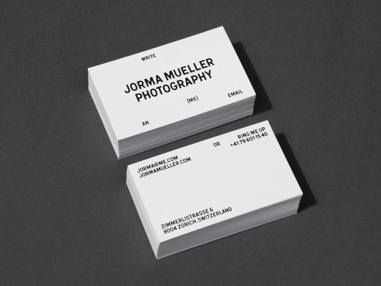Jorma mueller photography bureaucollective design typography bureau collective jorma mueller photography in business card reheart Images