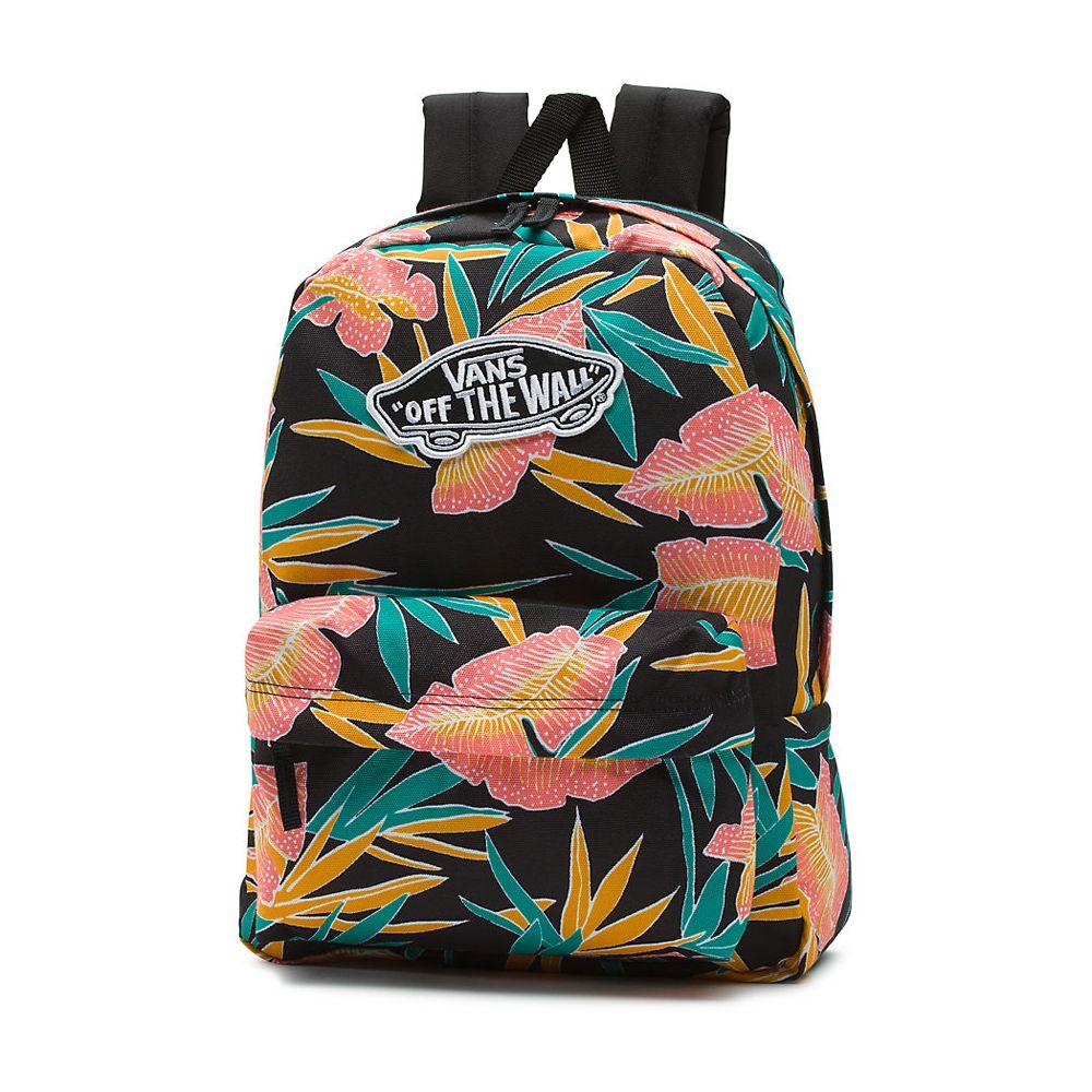 mochila vans escolar negra