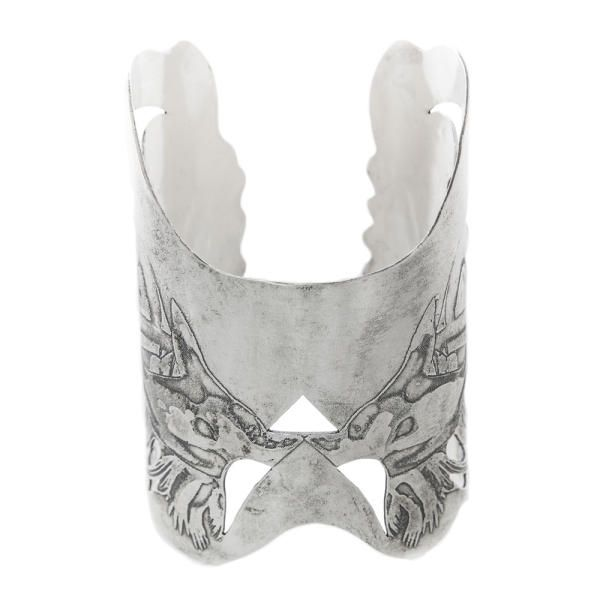 Angel Wings Silver Cuff by Becky