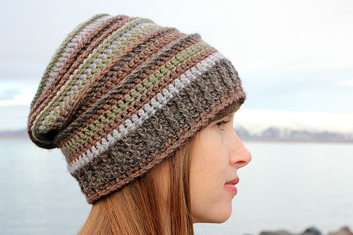 Ravelry Stripes Slouchy Hat Pattern By Jessica A Chong Hats