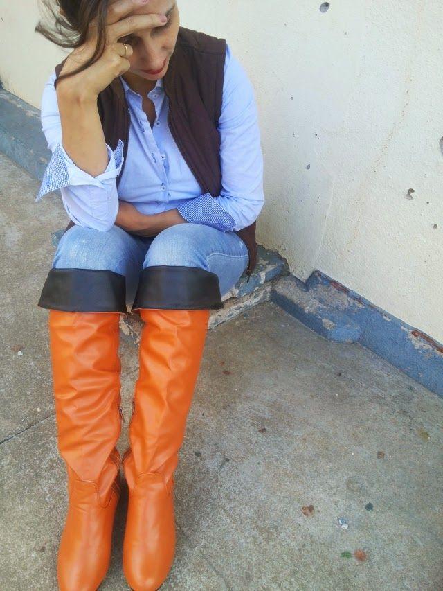 FEMINA - Modéstia e elegância: Rural chic com over the knee