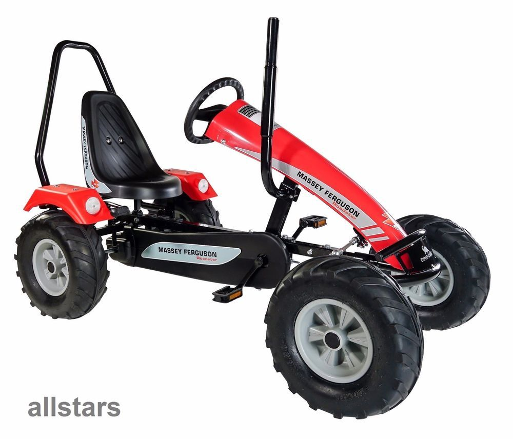 Dinocars Dino Car Gocart Gokart Track Massey Ferguson Bf1 Kinderfahrzeug Kettcar Kettcar Rennfahrer Fahrzeuge