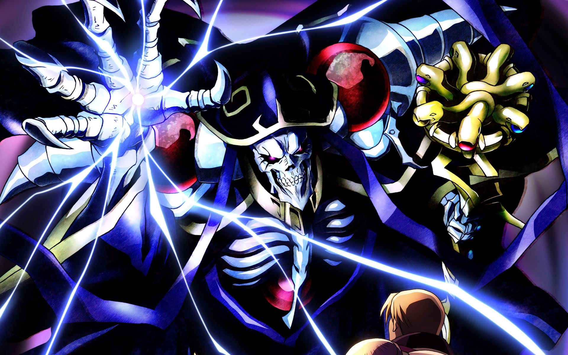 Ainz Ooal Gown Computer Wallpapers Desktop Backgrounds 1920x1200 Id 655516 Anime Wallpaper Anime Anime Fanart