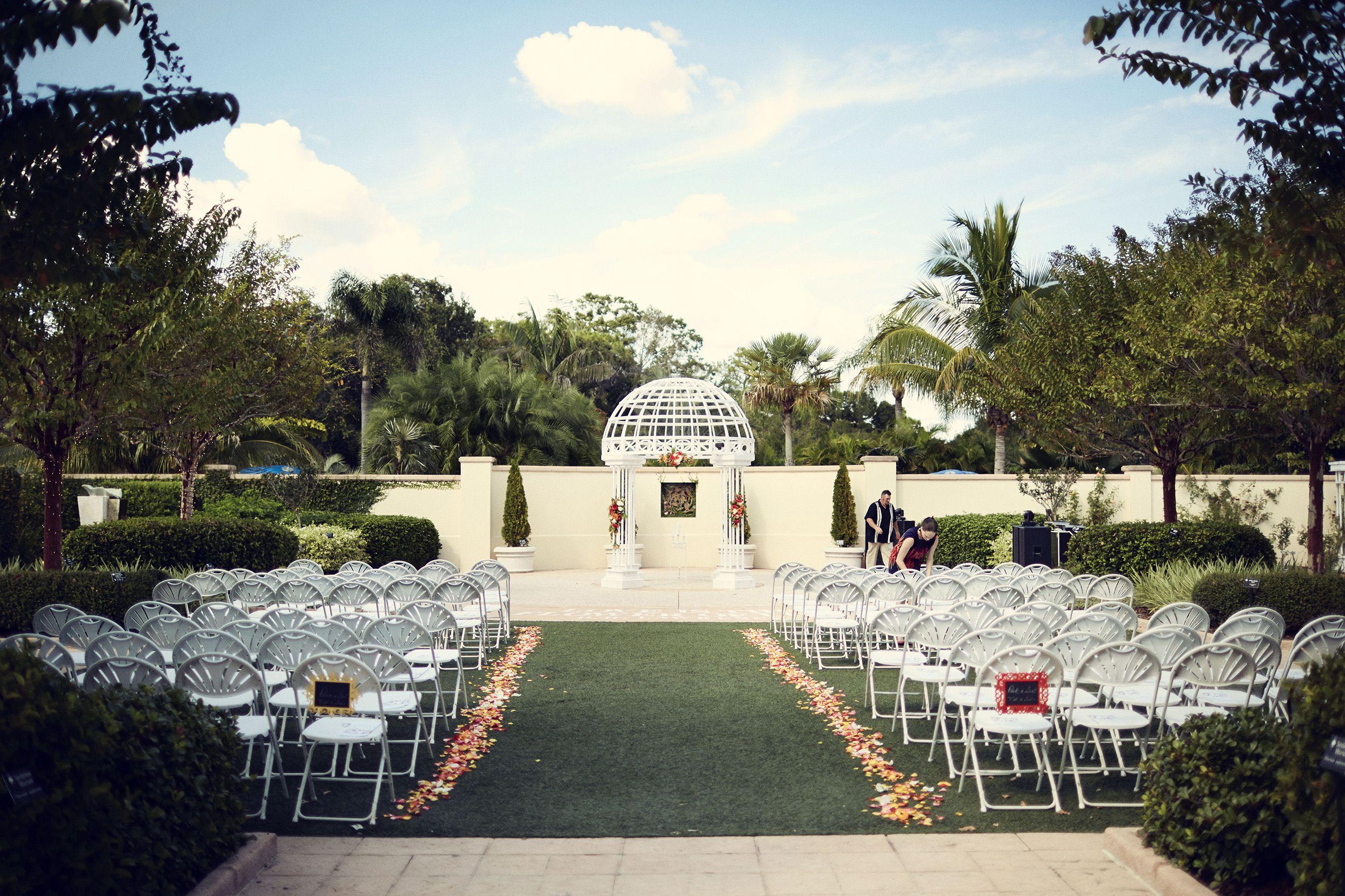 Flbotanicalgardens largo outdoor ceremony