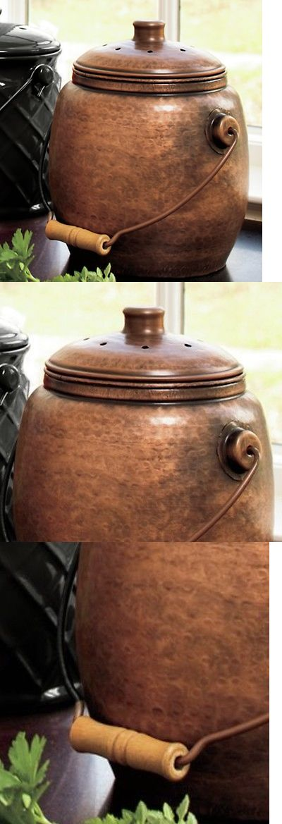 garden compost bins countertop compost pail container composter decorative compost bin kitchen new