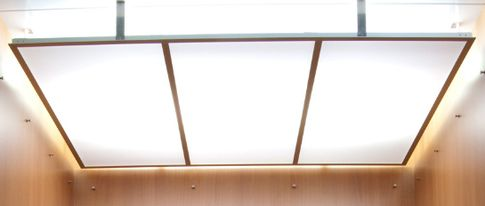 Polycarbonate Light Diffuser - Suspended Ceiling   lighting
