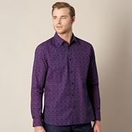 J By Jasper ConranBig and tall designer navy art deco shirt