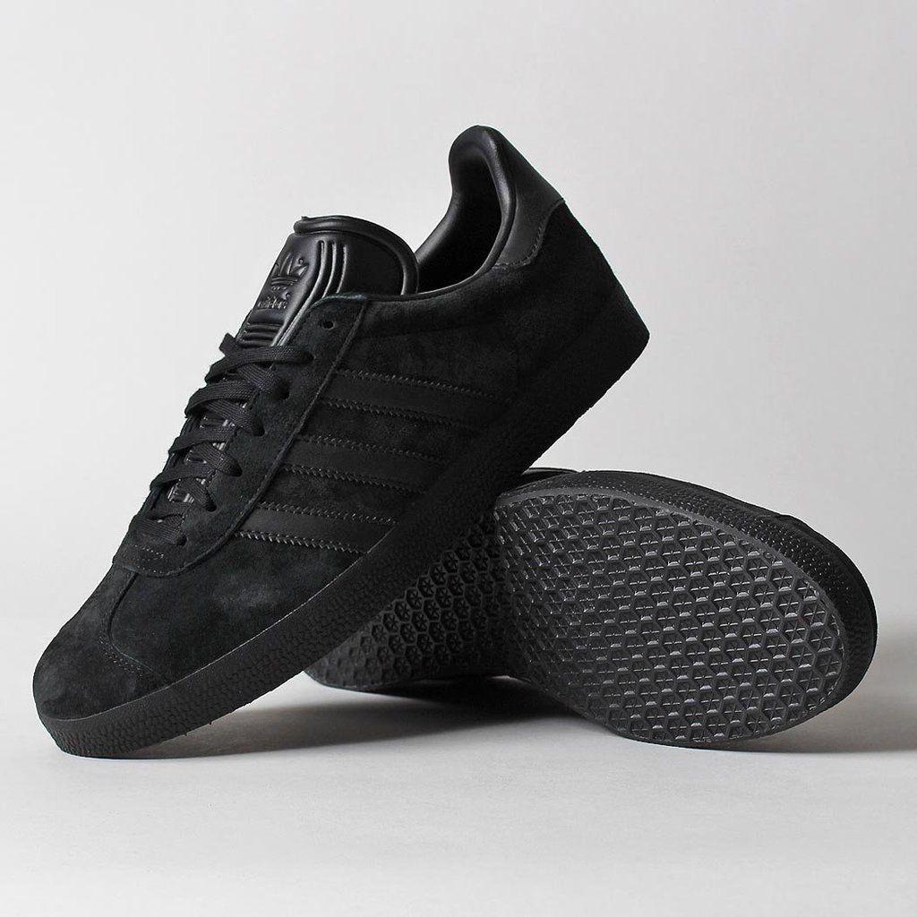 Adidas Originals Gazelle Shoes Shoes, All black sneakers