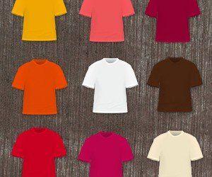 5672+ American Apparel T Shirt Mockup Best Quality Mockups PSD