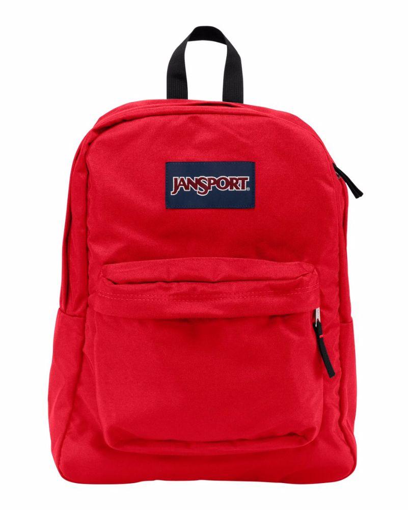 mochila roja vans