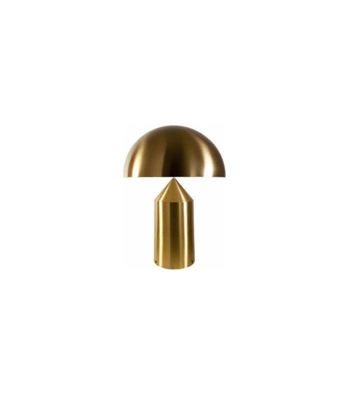 Oluce Atollo 233 Atollo 2 Lights Table Lamp Finish: Gold