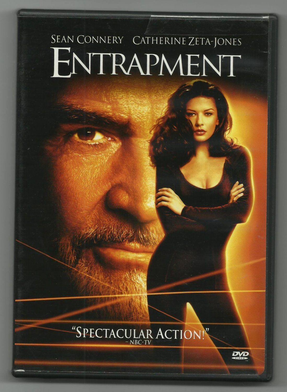 Entrapment Dvd Sean Connery And Catherine Zeta Jones 1999 Unsealed Near Mint Sean Connery Catherine Zeta Jones Movies